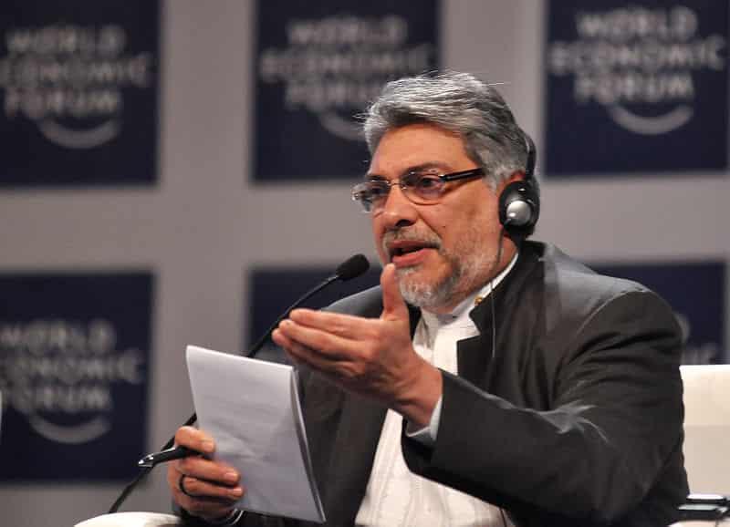 Former President of Paraguay, Fernando Lugo, is a native Guarani speaker.