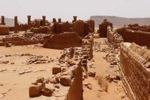 The Great Enclosure of Musawwarat es-Sufra.