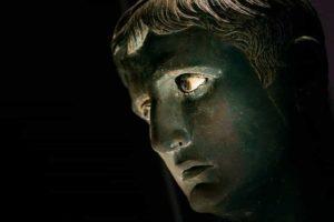 Head of Roman Emperor Augustus found buried under a temple in Meroe.