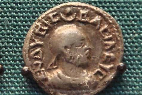 King Endybis of Aksum. 227-235 A.D